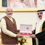 Modi'ye madalya takma yarışı: Önce BAE, şimdi de Bahreyn!