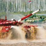 Rus tankı hız rekoru kırdı!