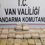 Van'da 30 kg uyuşturucu ele geçirildi