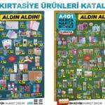 30 Ağustos A101 aktüel kataloğu yayınlandı! Kırtasiye ürünlerinde...