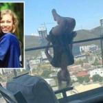 Genç kadının balkon şovu hayatını kararttı