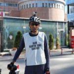 İşten çıkarıldı, bisikletle Ankara'ya kadar gelip eylem yaptı
