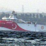 MTA Oruç Reis gemisi Çanakkale Boğazı'na ulaştı