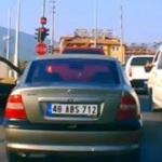 Muğla'da satırlı trafik magandası!