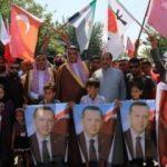 4 bin kişi toplandı! Türkiye ve Erdoğan'a teşekkür!