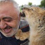 Yer Kayseri: Kaplan yavrusunu görenler şaşırıyor