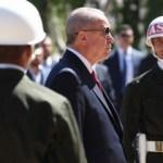 Cumhurbaşkanı Erdoğan Sivas'ta Atatürk Anıtı'na çelenk bıraktı