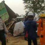 Endonezya'da 20 araçlık zincirleme kaza: 8 ölü