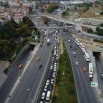 İstanbul'da şok görüntü: 3 kilometrelik araç kuyruğu!