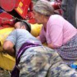 Korkunç olay! Ailesine yardım ederken kolu koptu