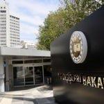 Lübnan büyükelçisi bakanlığa çağrıldı