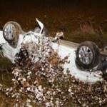 Otomobil takla attı! Burcu ve Kübra'nın acı sonu