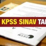 2020 KPSS sınavı ne zaman? Lise, Önlisans ve Lisans memurluk sınav takvimi