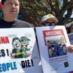 ABD'de Çin'in Doğu Türkistan'daki zulmü protesto edildi!