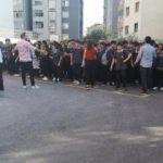İstanbul'da okulda korkutan yangın