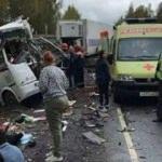 Rusya'da feci kaza! Çok sayıda ölü ve yaralı var