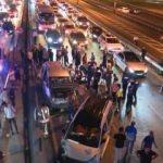 Şirinevler'de korkunç kaza! 5 araç birbirine girdi