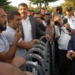 Tevfik Göksu'dan İBB önünde eylem yapan işçilere ziyaret