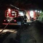 Beykoz'da korkutan yangın