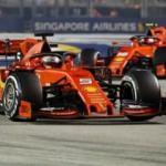 Ferrari Singapur'da şahlandı! 2 yıl sonra ilk...
