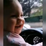 Hakan Hatipoğlu'nun kızı Lila'yla araba keyfi!