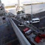 Kiev'de bomba paniği! 'Köprüyü havaya uçururum' tehdidi!