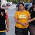 Oğlunu cinayete azmettirdiği iddia edilen anne yakalandı