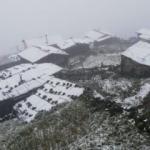 Rize'de mevsimin ilk karı yağdı