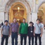 Atakum Anadolu İmamhatip Lisesi, hafız öğrencilerini Kudüs'e gönderdi