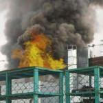 Aksaray'da fabrikada yangın
