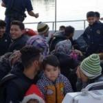 Çanakkale'de 213 kaçak göçmen yakalandı