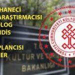 Kültür ve Turizm Bakanlığı personel alımı: Son gün!