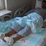 Yunan polisi Pakistanlı göçmeni işkenceyle bu hale getirdi!