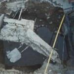 Üsküdar'da İSKİ çalışması sırasında yolun altından tarih çıktı