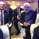 Liderlerin minibüs selfiesi olay oldu