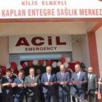 Kilis'e hayırseverlerden Kur'an kursu ve 112 Acil Sağlık İstasyonu