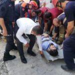 Esenyurt'ta facia: Çalışma sırasında yol çöktü