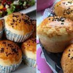 Evde muffin poğaça nasıl yapılır?
