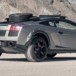 Lamborghini Gallardo arazi aracına dönüştürüldü