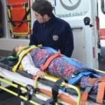 Otomobil şarampole yuvarlandı: 4 yaralı