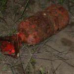 Sahilde denizaltı mühimmatı bulundu
