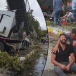 Sakarya'da feci kaza! Ölü ve yaralılar var