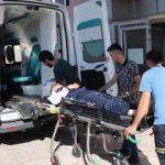 Sınırda askeri araç şarampole devrildi: 2 asker yaralı