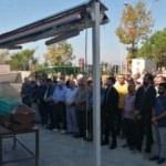 Teröristin cenaze töreninde HDP ve DİSK yan yana