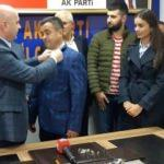 Çamaş'ta 750 kişi AK Parti'ye katıldı