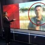Canlı yayında CNN Türk muhabirinin heyecanı kamerada