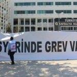 CHP'li belediyedeki işçilerden grev kararı