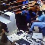 İşyerini basıp öldüresiye dövdüler!
