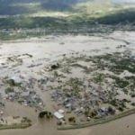 Japonya tayfunla mücadele ediyor! On binlerce asker görevlendirildi