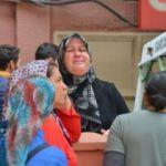Kızının cenazesini alan annenin feryadı yürek yaktı